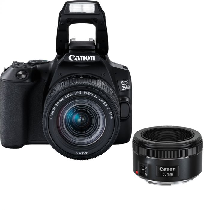 The Canon 250D camera is available at Camera Pro stores now.